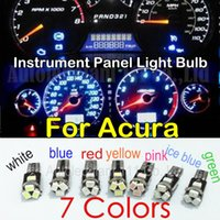 acura legend lights - 10pcs LED T5 For Acura ILX RDX MDX RL TL TSX ZDX RSX NSX CL Integra SLX Legend Vigor Dashboard Instrument Panel Light Bulb