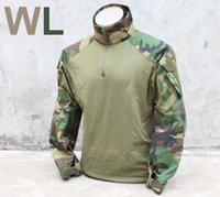 Cheap US Stock TMC NAVY SEALS DEVGRU Gen3 G3 Combat Tactical Shirt US Army Woodland WL