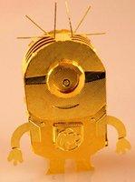 Wholesale DIY Assemblage Dimension Copper Puzzle Gold Despicable Me Puzzle Childrens Intelligent Toys