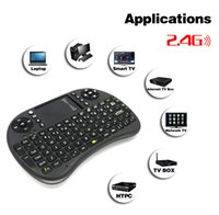 mini pc notebook - CE Mouse i8 Qwerty Keyboard Fly Air Mouse Mini Wireless QWERTY Keys Keyboard Mouse Touchpad for PC Notebook Android TV Box HTPC
