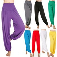baggy genie pants - FG1509 Harem Genie Dance Sports Pants Loose Lantern Aladdin Hippie Baggy Jumpsuit Sport Cropped Pajama Casual Sports Pants