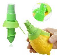 Wholesale Useful Lemon Citrus Sprayer ABS plastic Rubber Fruit Lime Orange Mist Sprinkling Extractor Juice Spritzer Kitchen Tools