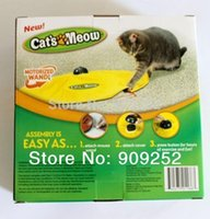 Wholesale New products Pet Supplies Toys Cat s Meow Pet Toys undercover mouse Cats playing partner Training Tool