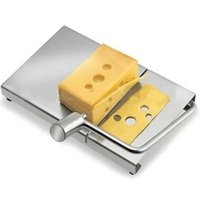 Wholesale Stainless steel cheese slicer butter cutter plate bean curd cheese cutter kitchen cake baking tools z