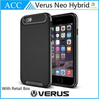 Wholesale Verus iPhone6 Plus Neo Slim PC TPU Hybrid Case Double Layers Shockproof Back Cover For iPhone Bumblebee Shell With Retail Box