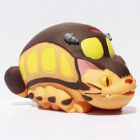 bank bus - My Neighbor Totoro Cat Bus Piggy Bank Coin Bank Vinyl Doll Brithday Gift For Kids