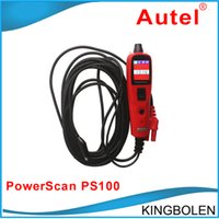 Code Reader PS - Newly PowerScan Circuit Tester Autel PS100 original auto diagnostic tool high quality PS DHL Fedex Post