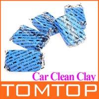 Cheap 5Pcs set Car Auto Magic Clean Clay Bar Detailing Wash Sludge Mud Remove Blue Auto Detailing Cleaner