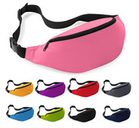 Wholesale DHL Free high quality cheap Fashion Unisex Bag Travel Handy Hiking Sport Fanny Pack Waist Belt Zip Pouch