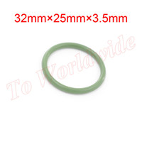 Wholesale 3 mm Thickness Green Viton O Rings Hole Sealings Gasket Washer mm x mm x mm