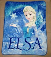 blankets - Frozen Elsa Raschel Blanket frozen Dairy queen elsa adventures Frozen anime raschel blankets NEW HOT IN STOCK