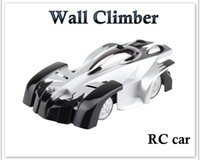 Wholesale Novelty Toy RC Car Wall Climber Ceiling Climbing Car RC Electric Toys Anti Zero Gravity Stunt Car Lucky Boy C E