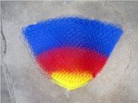 Wholesale 200pcs Color glass wire line woven network of reading durable sports fishing cage hql