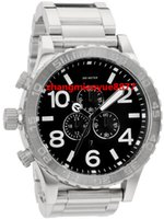 authentic dress - NX Mens CHRONO Silver Black A083 A083000 Chronograph Authentic Watch