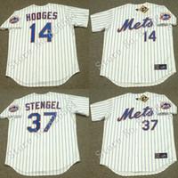baseball casey - Cheap GIL HODGES CASEY STENGEL New York Mets Throwback Home Baseball Jersey throwback Baseball Jersey stitched S XL