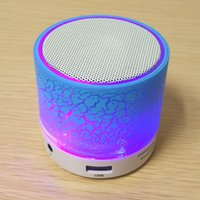 Wholesale Mini Bluetooth Speaker LED Flashing Hands Super Bass Free Roundness Bluetooth Portable with MP3 Player Support TF Card