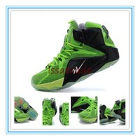 silk stretch satin - 2015 Release Lebron XII Men Sneaker Sports Shoe Men s Basketball Shoes Neon Green Black Voltage
