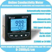 atc online - Online Conductivity TDS Monitor Tester METER Analyzer us cm ppm Error F S ATC Alarm output