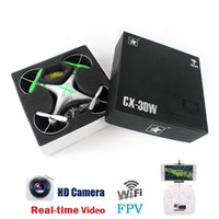 Wholesale Cheerson CX W CX W TX FPV Quadcopter Drone With Camera RC Helicopter Professional Drones Drone With Camera Dron Quadrocopter