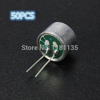 Wholesale 50pcs Mini Pin DB mm mm Electret Microphone Spy Pickup Condenser