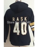 best womens hoodies - 30 Teams Top Quality Ice Hockey Hoodies jerseys Bruins Tuukka Rask Black Womens Hoodie Stitched Best Quality