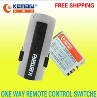 Wholesale K PC118 V One Ways Wireless Smart Remote Control Switch Can through the walls V Could Be Customized