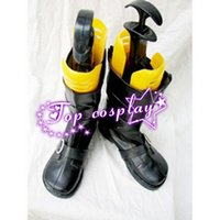 akira shoes - Monochrome Factor Akira Nikaido PU Leather Cosplay Boots shoes black ver