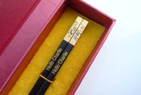 export packing - High Quality Ebony Chopstick gift box packing Panda design Golden Engraving exported to Japan Korea