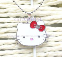 articles steels - Special offer New Popular Girl Article Hello Kitty Necklace