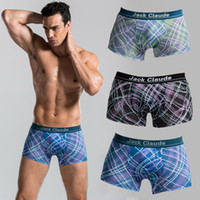 Wholesale 3 Piece Box Men UnderWear Breathable Soft Stripe Short Inside Wear Pants Work Sport Absorb Sweat Underpants knickers For Men