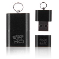 Wholesale Best Black USB Memory Card Reader Writer Micro SD TF Trans Flash Card east