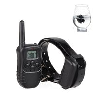 accurate training - Accurate adjustable shock vibration stop barking dogs training Pet trainer collar with Fully waterproof collar receiver