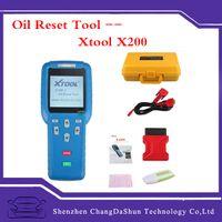 audi free maintenance - 2016 Original XTOOL X X200 Oil Reset Tool Professional Hand Auto Maintenance Resetter DHL