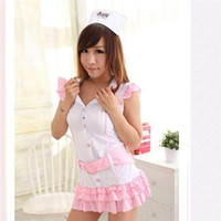 sexy halloween costumes - Halloween Party Cosplay Anime Costume Role Playing Nurse Costume Short Skirt Suit Sexy Clothing