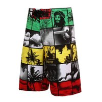 Wholesale New Fashion Brand Male Shorts Bermuda Mens Board Shorts Surfing Boardshorts Swim Trunks Beach