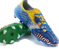 Wholesale 2015 F50 FG Yamamoto Soccer shoes Dragon limited Cleats Synthetic Leather football Boots New with Box athletic shoes