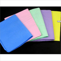 Wholesale The car A large OPP bag deerskin towel towel multifunctional car auto multicolor batch mixing