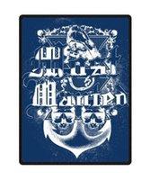 anchor blanket - Hot Sale Custom Anchor Design Starry Night Pattern Decoration Best Nice Funny Stylish Blanket x CM U45639