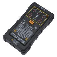 Wholesale Professional HYELEC MS5900 Motor Phase Rotation Indicators Tester Meter for FLUKE F9040 F9062