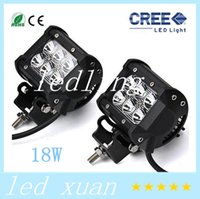 Wholesale CREE W Cree LED Work Light Bar Lamp Motorcycle Tractor Boat OffRoad WD x4 Motor Truck SUV ATV Spot Flood Beam v v