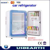 Wholesale 12L car refrigerator car home dual refrigeration box mini refrigerator fresh and well being heated box