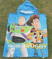 bath towel baby toys - New Toy Story Hooded Towel For Children Cartoon Bath Towel baby boys cartoon Beach Towels