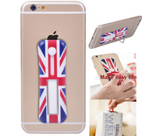uk flag - Universal Finger Portable sticker Cute Car US UK Flag stand Holder For Iphone Samsung ect Cell mobile phone Ipad Tab Tablet