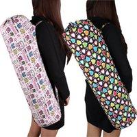 Wholesale Yoga mat plus size yoga bag velvet backpack canvas yoga bags waterproof yoga bag