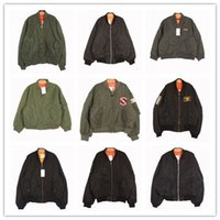 Wholesale vintage original single vintage Nippon ma flight suit jacket baseball uniform tip goods