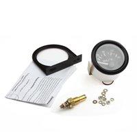Wholesale 2pcs New Inch Universal Car Pointer Oil Temperature Temp Gauge with LED Light CEC_543