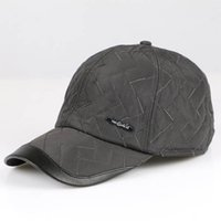 baseball hat manufacturers - high quality new men s autumn and winter hat baseball cap adult ear warm thick velvet custom manufacturers