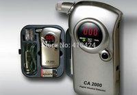 Wholesale New CA Digital Drunkometer Breathalyzer Breath Check portable Alcohol Tester detector order lt no track