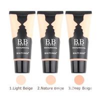 Wholesale 3colors BB Cream Make Up Base Foundation Bright Smooth Whitening Moisturizing ml
