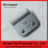 Wholesale Sirreepet Pet grooming clipper blade standard Oster A5 blade steel or ceramic F mm